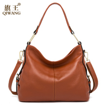 100% Genuine Leather Bag Brand Designer Cowhide Leather Handbags 2016 New HOBO Purse Fasion Lady Pink Handbag High Quality