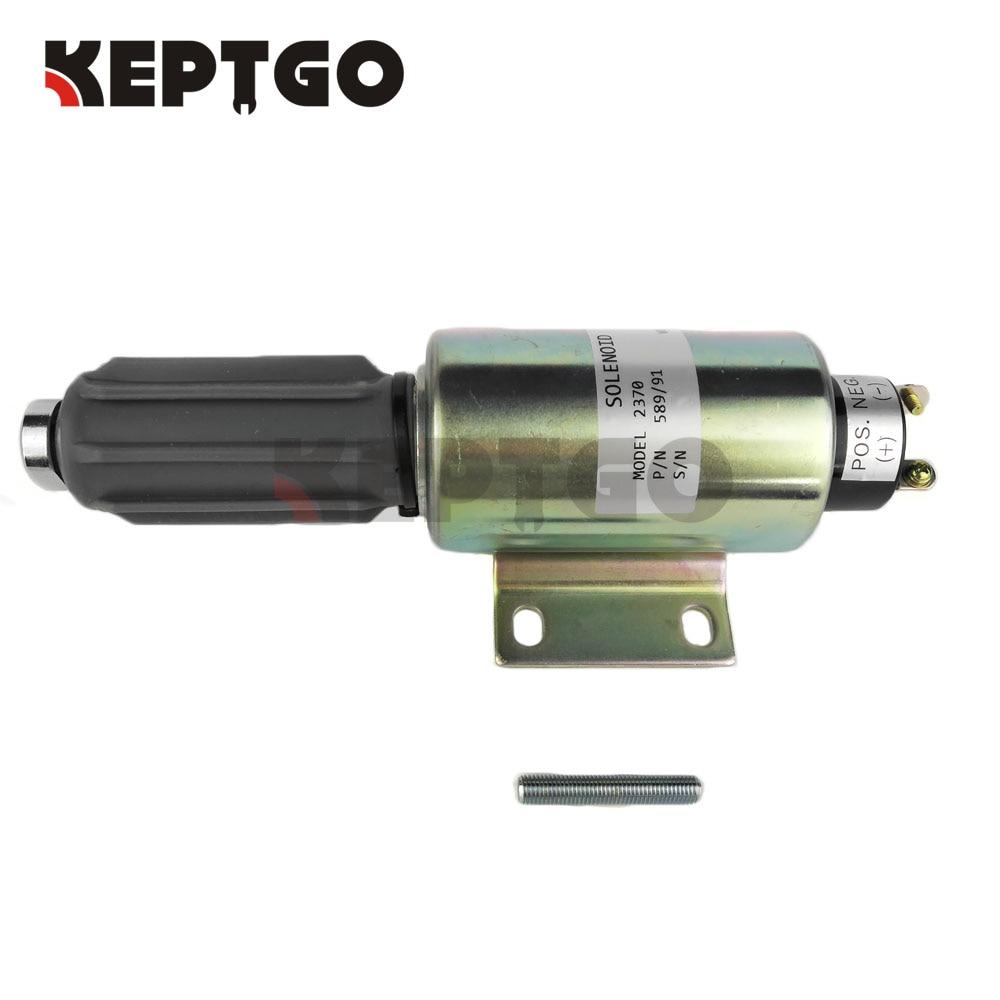589/91 24v Fuel Shutoff Stop Solenoid Valve 2370 цена и фото