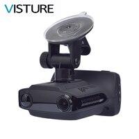DVR Auto Radar Detector GPS Camera 3 in 1 Full HD 1080 P Video Recorder Antiradar Speedcam WDR Auto Dash Cam Rusland Visture G3