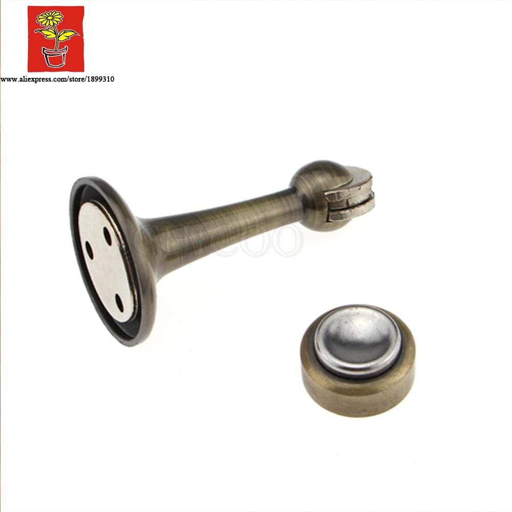 Brass Antique Brass Industrial Door Magnetic Catch Door Stopper Wall Door  Stop Magnetic Door Holder In Door Stops From Home Improvement On  Aliexpress.com ...