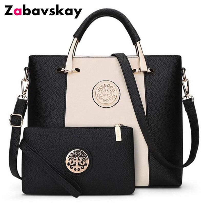 a48196ef453 2019 nuevas marcas famosas bolsos de hombro de lujo para mujer bolsos de  mano de diseño Casual bolsos y bolsos de mano para mujer conjunto de  negocios ...