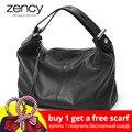 Zency 100% пояса из натуральной кожи OL стиль для женщин сумка модные женские сумки на плечо классическая сумка Crossbody Кошелек - фото