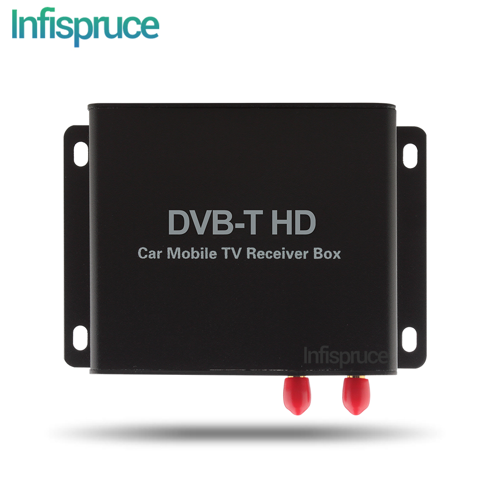 DVB-T2/ISDB-T/DVB-T BOX and TV connector to support the TV function