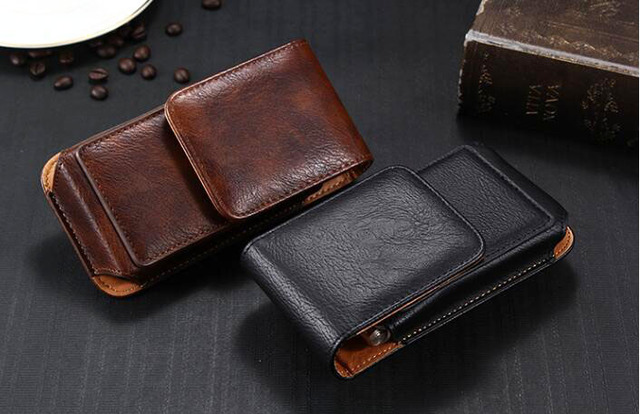 Rotary Holster Belt Clip Mobile Phone Leather Case Pouch