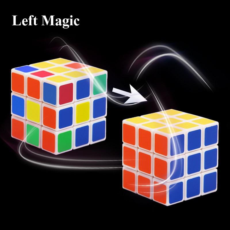 Flash Cube Restore Magic Tricks Instant Restore Cube Close Up Stage Magic Props Accessories Comedy Illusions Magician Gimmick