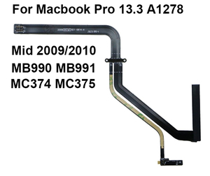 "New 821-0814-A Hard Drive Flex Cable for Macbook Pro 13"" A1278 HDD Sata Cable Mid 2009/2010 MB990 MB991 MC374 MC375(China)"