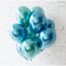Latex Balloons And Colored Confetti Birthday Party Anniversary Wedding Baby Shower Inflatable Ball Supplies