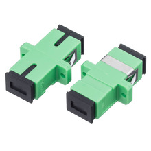 200PCS SC APC Simplex fiber optic adapter High quality Optical coupler Fiber flange