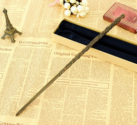 2016 Metal Core Harry Potter Magical Wand Newest Quality Deluxe COS Hermione Granger Magic Wands Stick