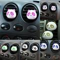 2 Pcs Panda Auto Car Veículos Air Vent Tomada Perfume Ambientador Bola Decoração