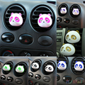 2 Unids Panda Auto Vehículo Car Air Vent Outlet Perfume Ambientador Bola Decoración