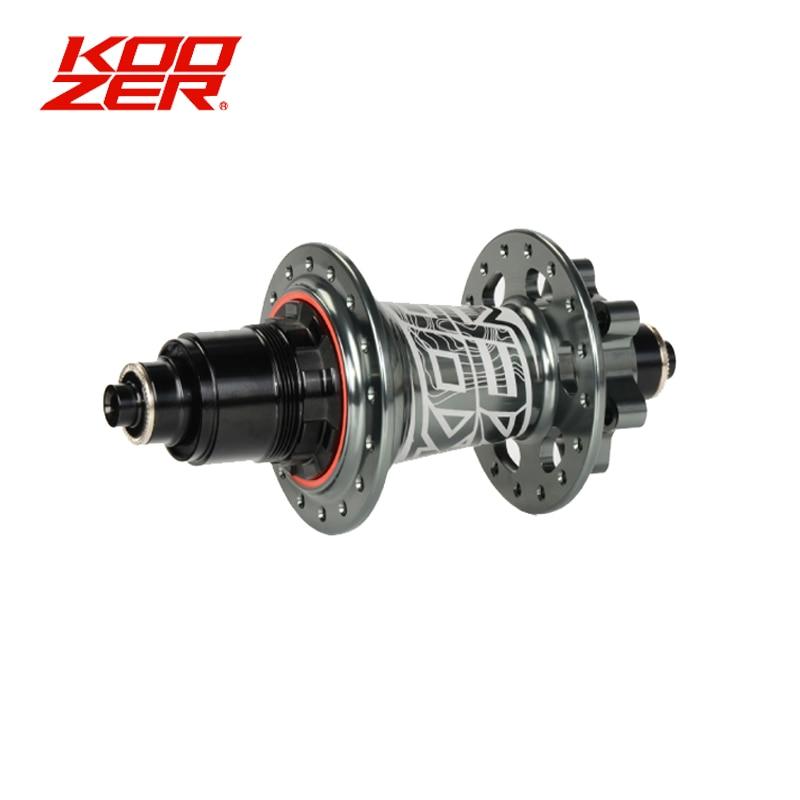 Koozer XM490 Rear Hubs MTB For Sram XD Cassette Body Hubs 4 Bearings 32 Holes 10