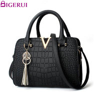 DIGERUI Tassel Fashion Women Bag Handbags Women Messenger Bags Crossbody Shoulder Bags Ladies Leather Handbag SC0411