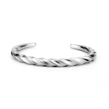 Bracelet torsadé de ligne carrée Viking nordique  2