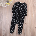 Baby Boy Clothes Kid Warm Jumpsuit Outfits Set 0-18M New born Rompers