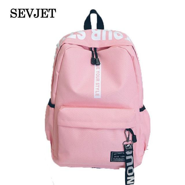 df4745c4a5 2018 Fashion Canvas Backpack For Women Rucksack School Bags For Teenage  Girls Mochila Feminina Bolsa Travel Laptop Backpack M223
