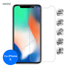 2pcs 9H Premium Glass Film For iPhone X XS MAX XS XR Front Tempered Glass Screen Protector Cover