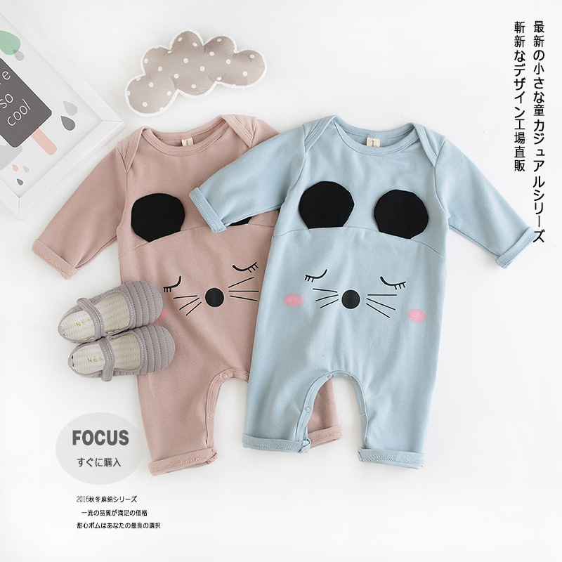 Baby Clothing Baby Romper Infant Newborn Baby Boy Girl Romper Clothes Long Sleeve Infant Cotton Jumpsuits Kids Rompers penguin fleece body bebe baby rompers long sleeve roupas infantil newborn baby girl romper clothes infant clothing size 6m