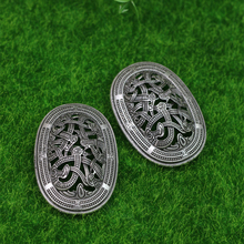 ФОТО langhong 1pcs legendary nordic vikings amulet sweden scandinavian dragon brooches viking brosch jewelry talisman