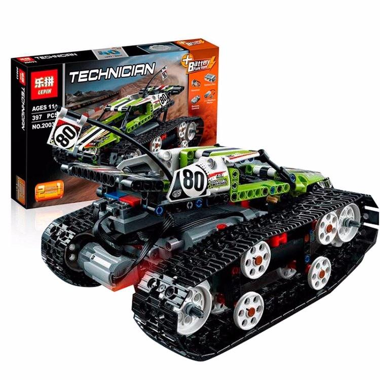 ФОТО Lepin 20033 Technic Series The RC Track Remote-control Race Car Set Building Blocks Bricks Educational Toys