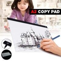 USB A2 LED Drawing Track Comics Tool Light Box Drawing Board Acrylic Material Tattoo Artist Mold Board Table Copy Pad