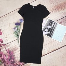 Dress Casual Short Sleeve Pencil Dress