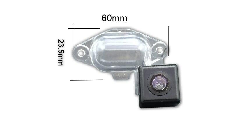 For Nissan NV 200 NV200  Evalia 2009~2015 Night Vision Waterproof Car Reverse Backup Rearview Parking Rear View Camera HD CCD (2)