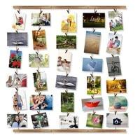 DIY подвесная настенная фоторамка 30 клипов фоторамка фоновая рамка фон, Настенная фотография папка для семейной заметки