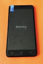Использовать оригинальный ЖК-дисплей Дисплей + дигитайзер Сенсорный экран + Рамка для Blackview E7 MTK6737 4 ядра 5.5 «HD Бесплатная доставка