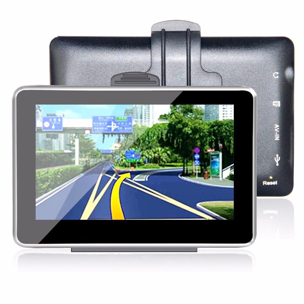 Konnwei 5 дюймов GPS навигатор портативный навигации
