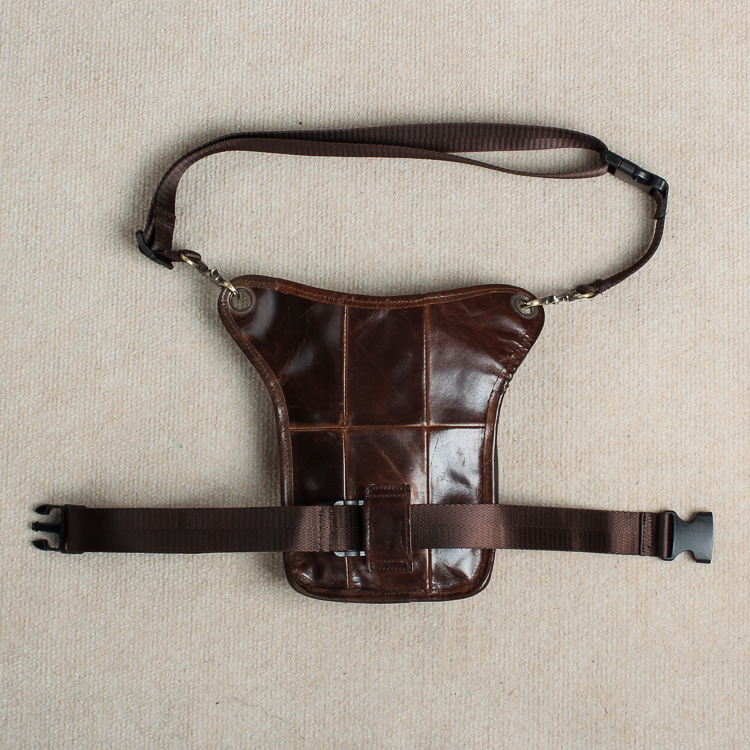 Real Leather Men Design Casual Messenger Crossbody Sling Bag - Bälten väskor - Foto 4