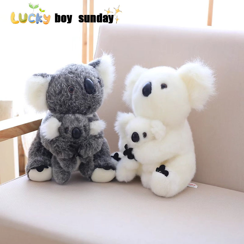 koala plush toy Australia animal koala doll cute animal stuffed soft doll mom hold kids koala toy high quality kids toys 40cm 50cm cute panda plush toy simulation panda stuffed soft doll animal plush kids toys high quality children plush gift d72z