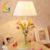 Grande sala de estar candeeiro de mesa de iluminação lâmpada de mesa criativo rural rústico presentes de casamento flores do casamento