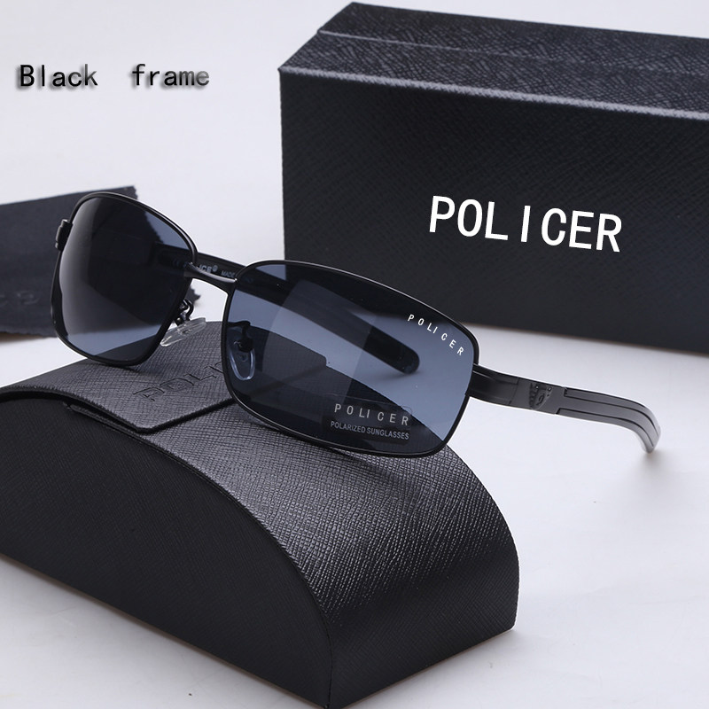 90614720bd48c POLICER2018 novo polarizador óculos de sol condução óculos de Sol Olho clam trendsetter  motoristas homens espelho