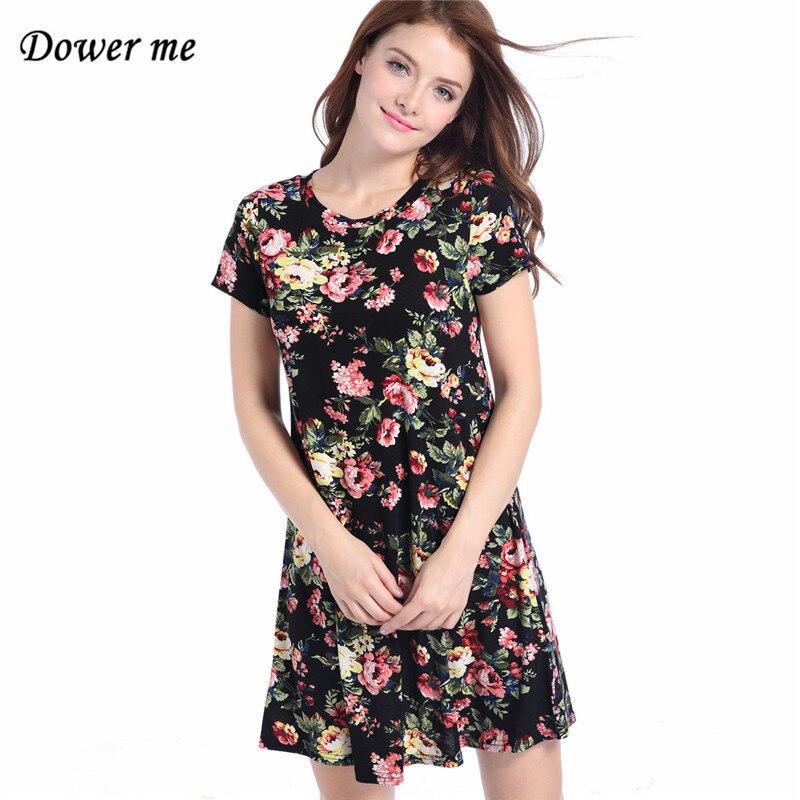 Для женщин платье с принтом Vestidos Дамская мода трапециевидной формы Платья для женщин женские Повседневное круглым вырезом платья msl088