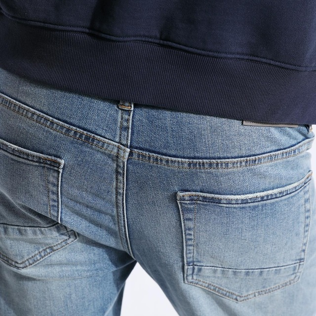SIMWOOD 2018 New Jeans Men Classical Jean High Quality Straight Leg Male Casual Pants Plus Size Cotton Denim Trousers  180348