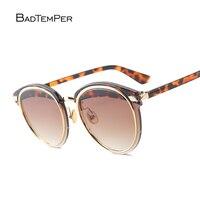 Badtemper 2017 Fashion Sunglasses Women Luxury Brand Designer Vintage Sun glasses Female Rivet Shades Big Frame Style Eyewear