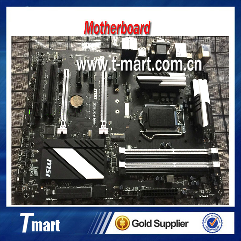 100% Working Desktop Motherboard MSI Z97S SLI Krait Edition System Board Fully Tested And Perfect Quality nl6448bc33 59 10 4 640 480 lcd panel s creen 100% tested working perfect quality