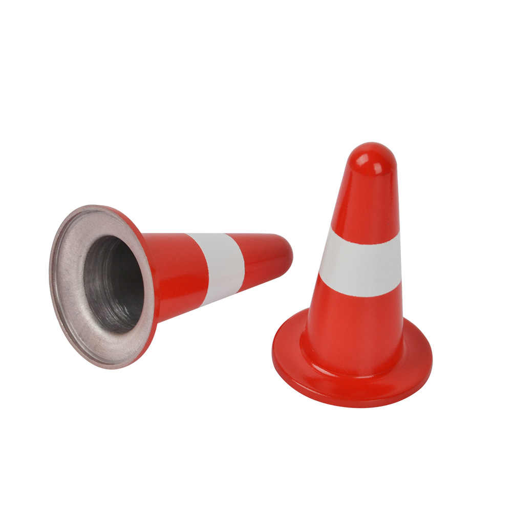 RC Aluminum Training Road Traffic Cone Obstacle Pile for 1/10 RC Car Accessories Parts