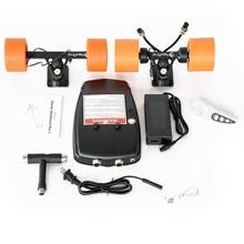 Maxfind DIY elektrisches Skateboard fahren 4 Rad mit herausnehmbarem Batteriepack