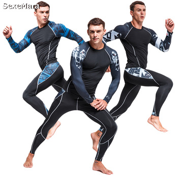 New Men Thermal Underwear Sets for men Compression Sweat Quick Drying Thermo Underwear Men's Clothing Long Johns new mens boxers thermal underwear sets compression sweat quick drying thermo underwear men clothing long johns kits