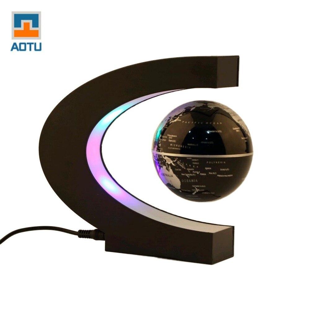 Decoración del hogar de moda LED flotante Tellurion en forma de C - Decoración del hogar