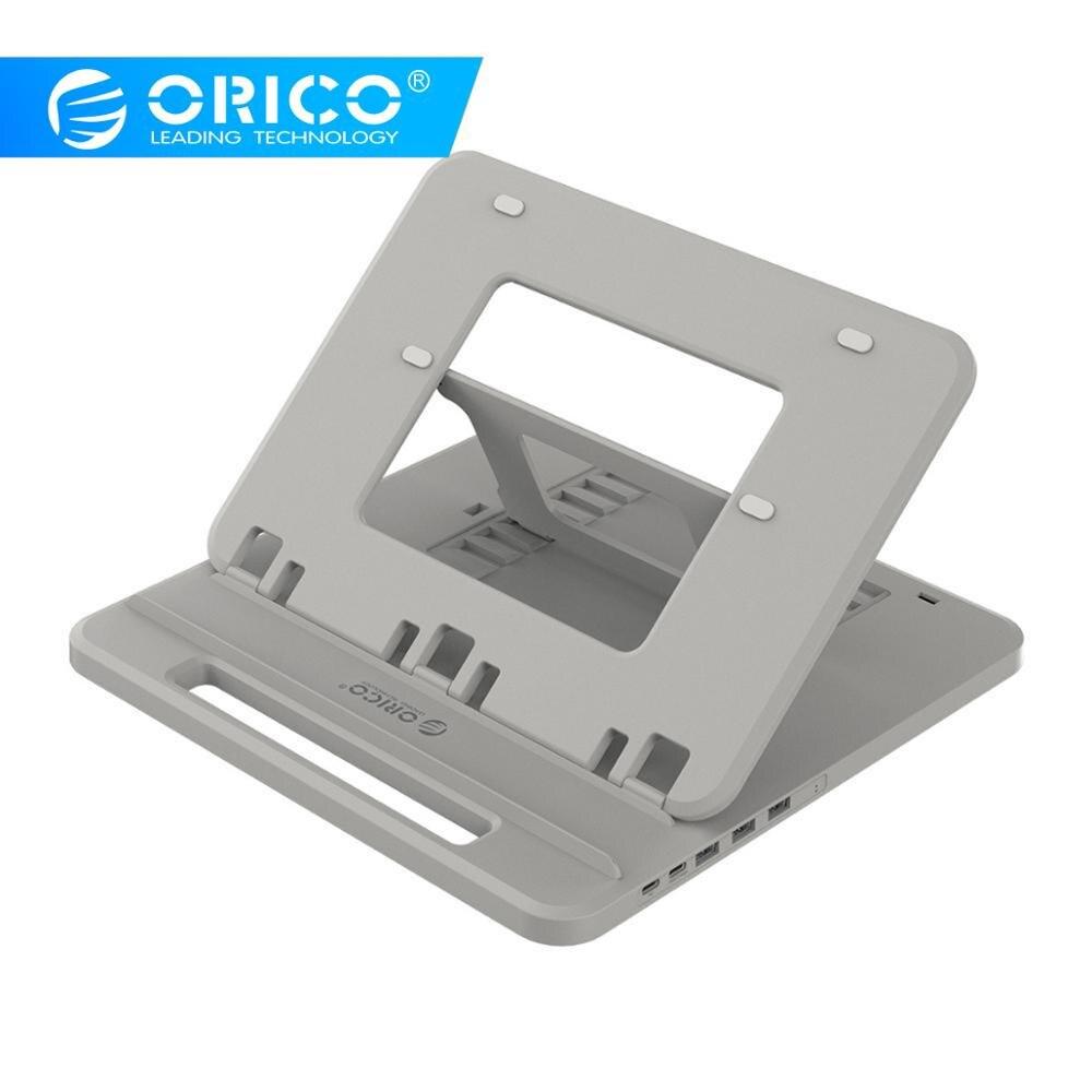 Station d'accueil d'application universelle ORICO avec support de tablette Flexible réglable multi-angle pour fente pour ordinateur portable pour iPad