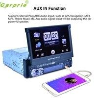 Duy nhất 1 Din 7 Inch Lật Stereo Xe Đài Phát Thanh Màn Hình Cảm Ứng USB SD Dropshipping Aug22