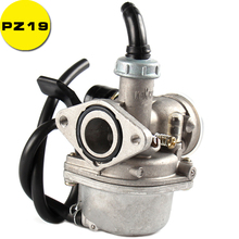 PZ19 Lever Choke Carb Keihin 19mm Carburetor For 50cc 70cc 90cc 110cc Engine Quad ATV 4 Wheeler Buggy Pit Dirt Bike