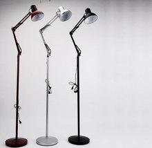dark red silver black mechanical floor lamp home decorative light fixture lamp lighting e27 socket vintage - Silver Floor Lamp