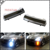 OEM Exact Fit CREE Switchback LED Front Bumper Reflector Replacement LED Daytime Running Lights For 2006