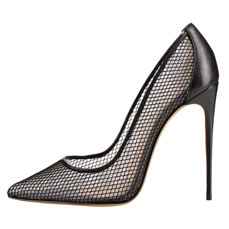Escarpins femme 2018 designer <font><b>shoes</b></font> 12CM <font><b>extreme</b></font> <font><b>high</b></font> <font><b>heels</b></font> <font><b>fetish</b></font> <font><b>sexy</b></font> wedding bridal <font><b>shoes</b></font> mesh pumps runway woman <font><b>shoes</b></font> image