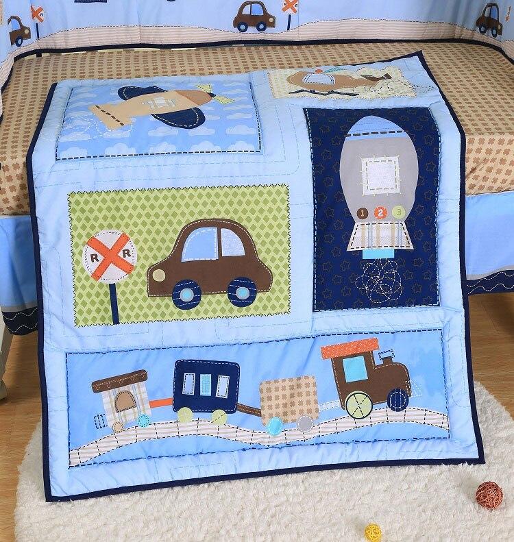 1 шт., Хлопковое одеяло для детской кроватки, 33*42, для мальчиков и девочек, Универсальное Детское одеяло с мультяшным принтом, детское одеяло, одеяла для кроватки, детские вещи для новорожденных - Цвет: comforter only23