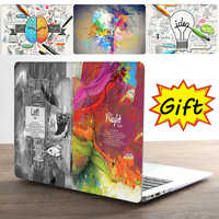 Étui et coque pour ordinateur portable mondial le plus vendu pour Apple macbook Air Pro Retina 11 12 13 15 pour Mac book 13.3 pouces avec barre tactile + cadeau